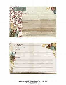 Recipes Cards Printable Recipe Cards Pour Tea And Coffee