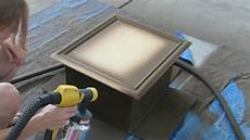 diy cabinet refacing hvlp wagner paint sprayer kitchen
