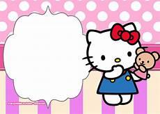 Hello Kitty Birthday Template Free Hello Kitty Birthday Invitation Templates Free