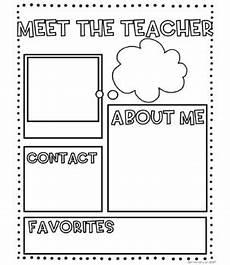 Meet The Teacher Newsletter Templates Meet The Teacher Editable Newsletter Templates By