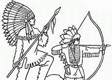malvorlagen zum drucken ausmalbild indianer kostenlos 3
