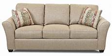 klaussner sedgewick k22200 s transitional sofa with flared