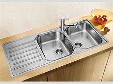 Blanco inset stainless steel kitchen sinks