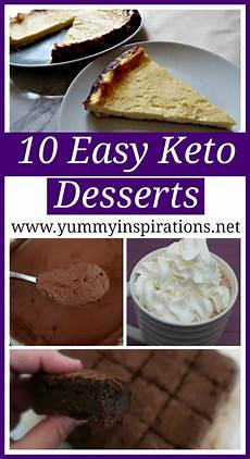 10 easy keto desserts the easiest low carb ketogenic