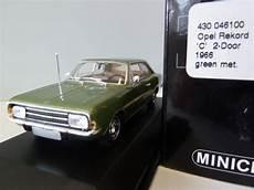 opel rekord 2020 opel rekord c green metallic 1 43 430046100 minichs