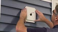 Vinyl Light Box Certainteed Vinyl Siding Maintenance Amp Repair Youtube