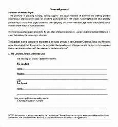 Sample Tenancy Agreement Doc Free 18 Sample Tenancy Agreement Templates In Pdf Ms