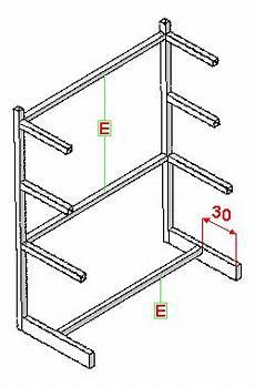 costruire scaffale legno costruzione di uno scaffale