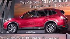 2019 Subaru Forester Design by All New Subaru Forester Finally Revealed Ctv News Autos