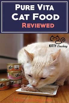 Cat Food Reviews Pure Vita Cat Food Review 2018