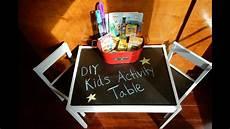 diy kids diy activity table