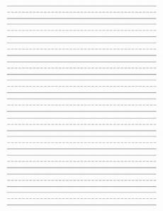 Kindergarten Paper Template Free Printable Lined Paper Handwriting Paper Template