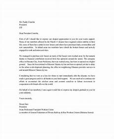 Letter Of Appreciation Format 11 Thank You Letter For Appreciation Pdf Doc Free