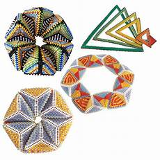 contemporary geometric beadwork with antwerp