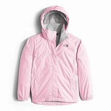 Light Pink North Face Rain Jacket The North Face Resolve Reflective Jacket Girls