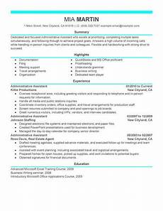 Admin Assistant Resume Skills 16 Amazing Admin Resume Examples Livecareer