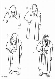 Printable Bible People How To Draw Bible Figures Additional Photo Inside Page