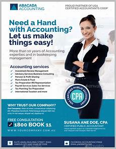 Advertise Services For Free 17 Accounting Amp Bookkeeping Services Flyer Templates