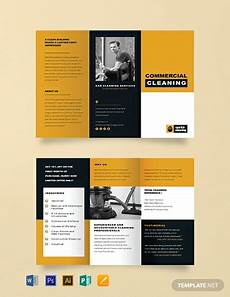 Mac Brochure Template Free Commercial Cleaning Brochure Template Word Doc