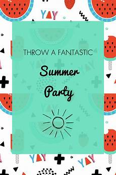 invitation ideas for party summer party ideas invitation amp free printables oh my