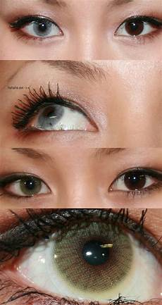 Light Brown Eye Contact Lenses Solotica Hidrocor Lenses In Ice Light Gray And Mel