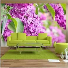 Lilac Sofa 3d Image by Papier Peint Lilac Flowers 250x175 Artgeist Outdoor