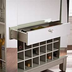southern enterprises mirage mirrored wine and bar cabinet