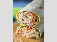 Spicy Sriracha tuna wraps make a great alternative to