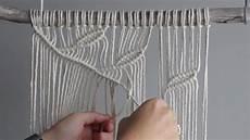 diy macrame wall hanging leaf pattern