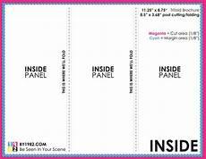 Free Blank Tri Fold Brochure Templates 10 Psd Tri Fold Menu Templates Free Images Tri Fold