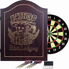 tgt king s value dartboard cabinet set wood
