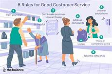 Good Client Service Skills 8 Rules For Good Customer Service