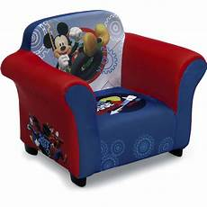 disney mickey mouse upholstered chair with sculpted