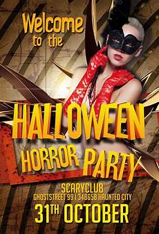 Free Halloween Flyer Template Free Halloween Party Psd Flyer Template Download Psd For