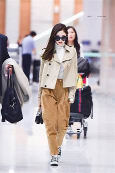 blackpink jennie airport photos at incheon back from