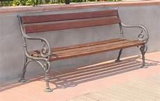 panchina per giardino panchina vienna per giardino e parco 4007 fonderia