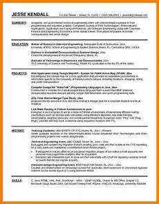 Resume For Engineering Internship 5 Engineering Intern Resume Ledger Review