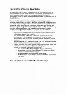 Winning Cover Letters Sample Winning Cover Letter Template Printable Pdf Download