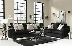heflin black fabric sofa and loveseat set a sofa