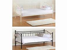 seconique pandora daybed ivory or black 3ft single