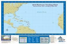Hurricane Camille Tracking Chart 2016 Swiftmaps Official Atlantic Basin Hurricane Tracking