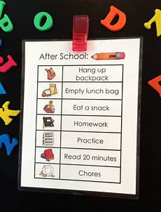 Children S Job Chart After School Job Chart Free Printable Tgif This
