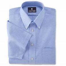 Jcpenney Stafford Shirt Size Chart Stafford Easy Care Short Sleeve Oxford Dress Shirt Big Amp