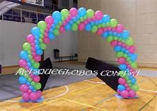 arco de globos arco plano con globos globos paredes de globos
