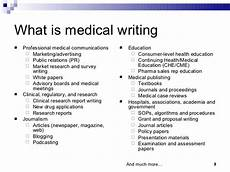 Clinical Writing Sample Careers In Medical Writing