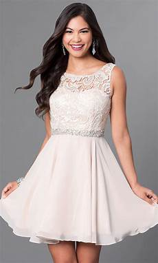 semi formal chagne grad dress promgirl
