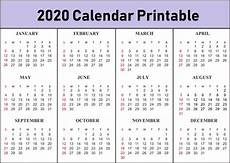 2020 calendar templates with holidays free blank monthly 2020 printable calendar template
