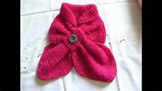 schal halstuch stricken teil 2 knit scarf neckerchief