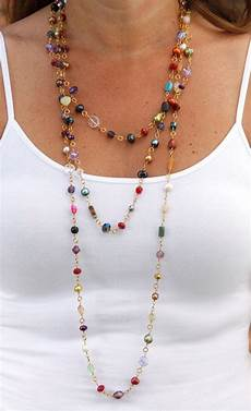 Different Bead Necklace Designs 17 Best Images About Long Necklace Designs On Pinterest