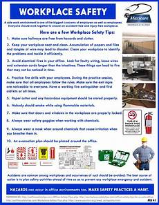 Office Meeting Topics Safety In The Workplace Workplace Safety Occupational